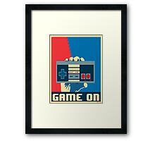 NES Revolution Framed Print