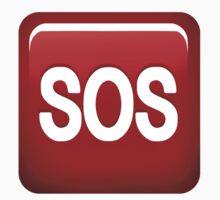 SOS emoji by Elkin  Jaramillo