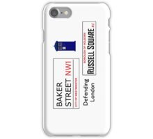London is Defended iPhone Case/Skin