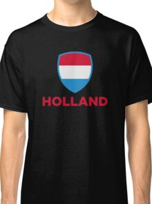National Flag of Netherlands Classic T-Shirt