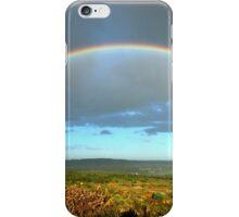 Twin Rainbow Over Nottinghamshire iPhone Case/Skin