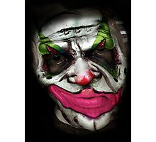 Coulrophobia Version 2 Photographic Print