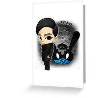 B.A.P - Matrix (Zelo) Greeting Card