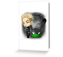 B.A.P - Matrix (Jongup) Greeting Card