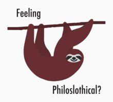 Feeling Philoslothical? One Piece - Short Sleeve
