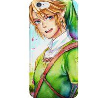 Link is happy to see you (Legend Of Zelda) iPhone Case/Skin
