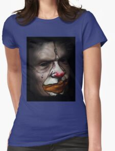 Tears of a clown Womens Fitted T-Shirt