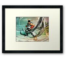 Ryu Street Fighter  Framed Print