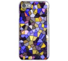 Stained Glass Mosaic iPhone Case (Purple) iPhone Case/Skin