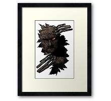 Fred said.... Framed Print
