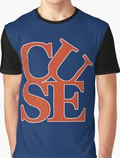 Love Cuse - Basketball Texture Graphic T-Shirt
