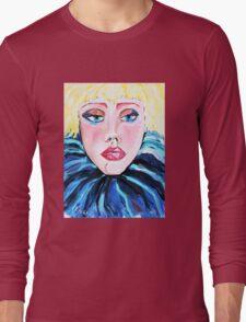 Stupsnase - Woman Art by Valentina Miletic Long Sleeve T-Shirt