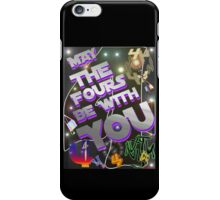 May The Fours Be With You Design iPhone Case/Skin
