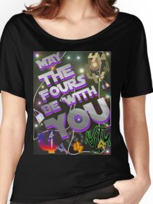 May The Fours Be With You Design Women's Relaxed Fit T-Shirt