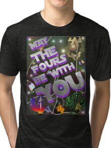 May The Fours Be With You Design Tri-blend T-Shirt