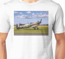 Spitfire Ia X4650/KL-A G-CGUK taxies out Unisex T-Shirt