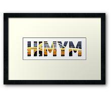 HIMYM - Taxi Framed Print