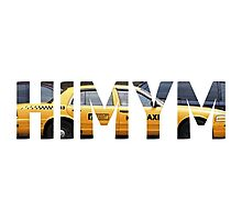 HIMYM - Taxi Photographic Print