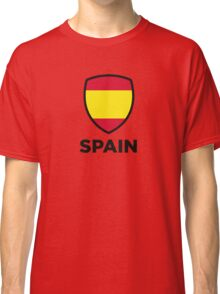 National Flag of Spain Classic T-Shirt