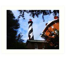 Saint Augustine Light Station Art Print