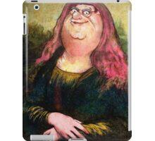 peter griffin as mona lisa iPad Case/Skin