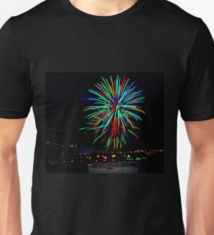 Hobart New Years Eve Fireworks Unisex T-Shirt