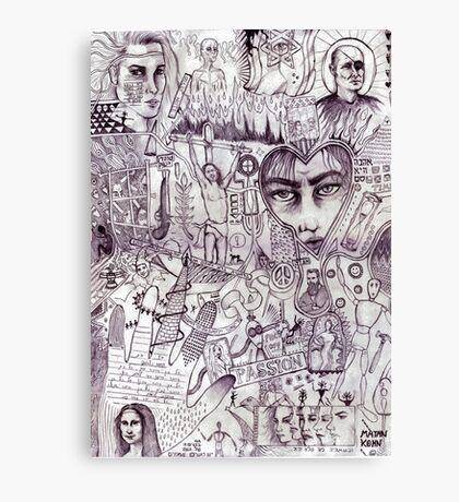 Israeli history Canvas Print