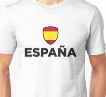 Spain Emblem Small 1 (3c, NEU) Unisex T-Shirt
