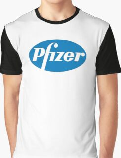 Pfizer Pharmaceuticals Graphic T-Shirt