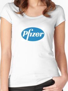 Pfizer Pharmaceuticals Women's Fitted Scoop T-Shirt