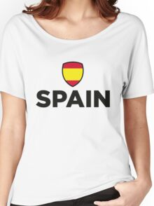 National Flag of Spain Women's Relaxed Fit T-Shirt