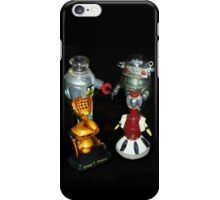 'Bots in the Bookcase iPhone Case/Skin
