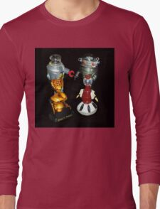 'Bots in the Bookcase Long Sleeve T-Shirt