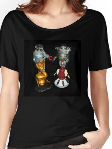 'Bots in the Bookcase Women's Relaxed Fit T-Shirt