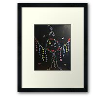 Birds and Flowers Dreamcatcher Framed Print