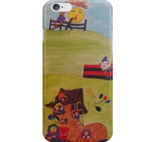 Mother Goose collage iPhone Case/Skin