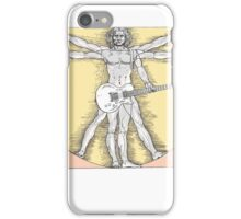 Vitruvian Rock iPhone Case/Skin