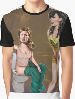 Katy Perry and Adele Graphic T-Shirt