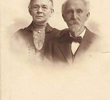 Mr. & Mrs. Cyrus Finch. The Unadulterated Great-Grandparents by CCGB! Studios