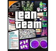 Lean Team - GTA Photographic Print