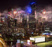 NYE Melbourne 2015 by Frank Moroni