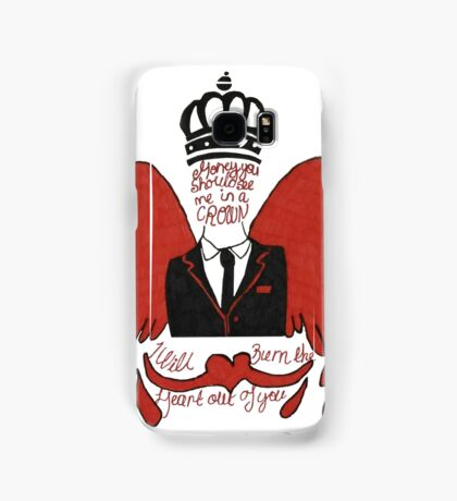 moriarty you should see me in a crown Samsung Galaxy Case/Skin