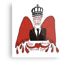 moriarty you should see me in a crown Metal Print