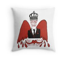 moriarty you should see me in a crown Throw Pillow