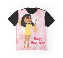 "Natalia Kills ""Happy New Year"" Graphic T-Shirt"