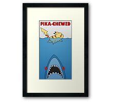 Pika-chewed Framed Print