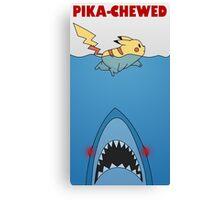 Pika-chewed Canvas Print