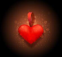 Toy valentine heart by devaleta