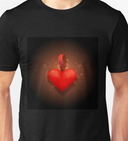 Toy valentine heart Unisex T-Shirt