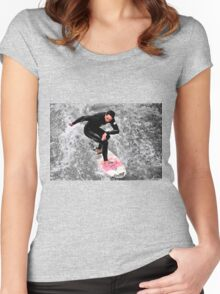 Urban Surfer Women's Fitted Scoop T-Shirt